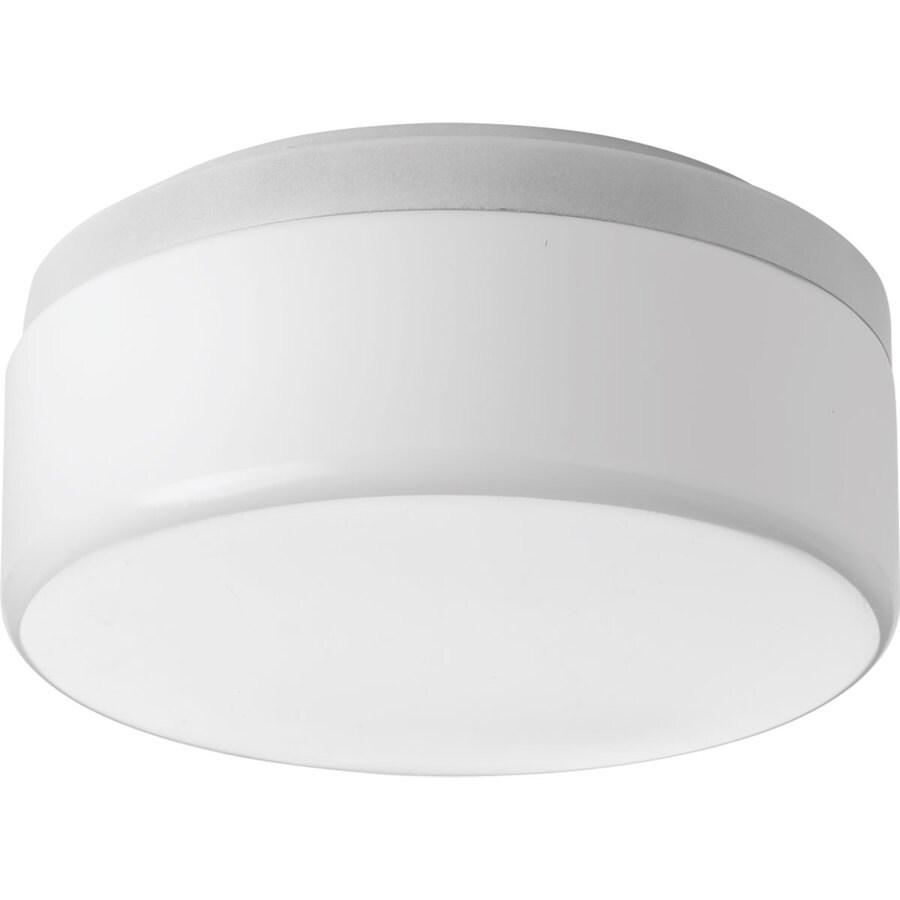 Progress Lighting Maier LED 9-in W White LED Flush Mount Light ENERGY STAR