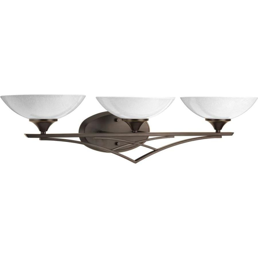 Progress Lighting Prosper 3-Light 7.375-in Antique Bronze Bowl Vanity Light