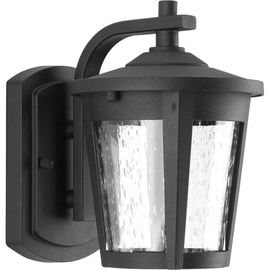 Shop Progress Lighting East Haven Led 7.875-in H Led Black