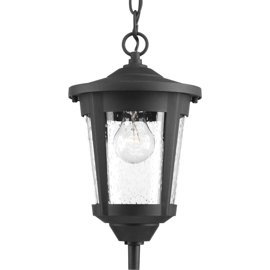 Shop Progress Lighting East Haven 7.5-in Black Single