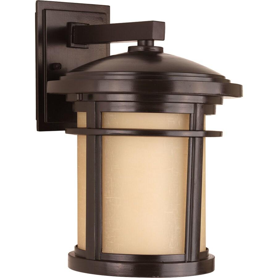 Progress Lighting Wish 12.5-in H Antique Bronze Dark Sky Outdoor Wall Light
