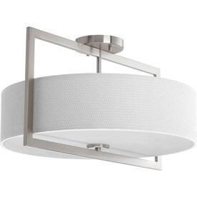 shop semi flush mount lights at lowes com
