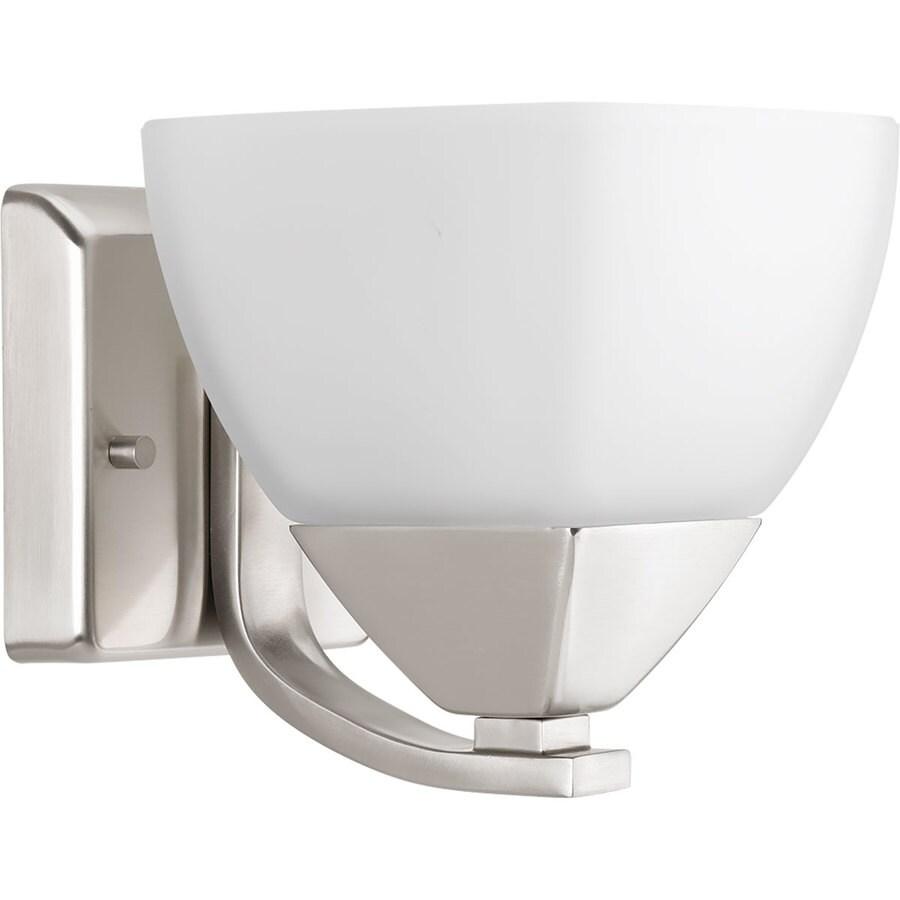Progress Lighting Appeal 1-Light 6.25-in Brushed Nickel Bell Vanity Light