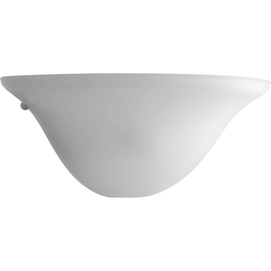Progress Lighting 13-in W 1-Light White Pocket Wall Sconce