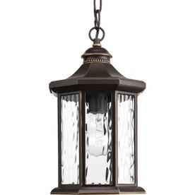 Progress Lighting Edition 16.25 In Antique Bronze Outdoor Pendant Light
