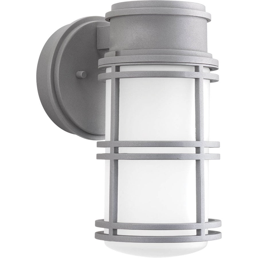 Progress Lighting Bell 10.625-in H Led Textured Graphite Outdoor Wall Light ENERGY STAR