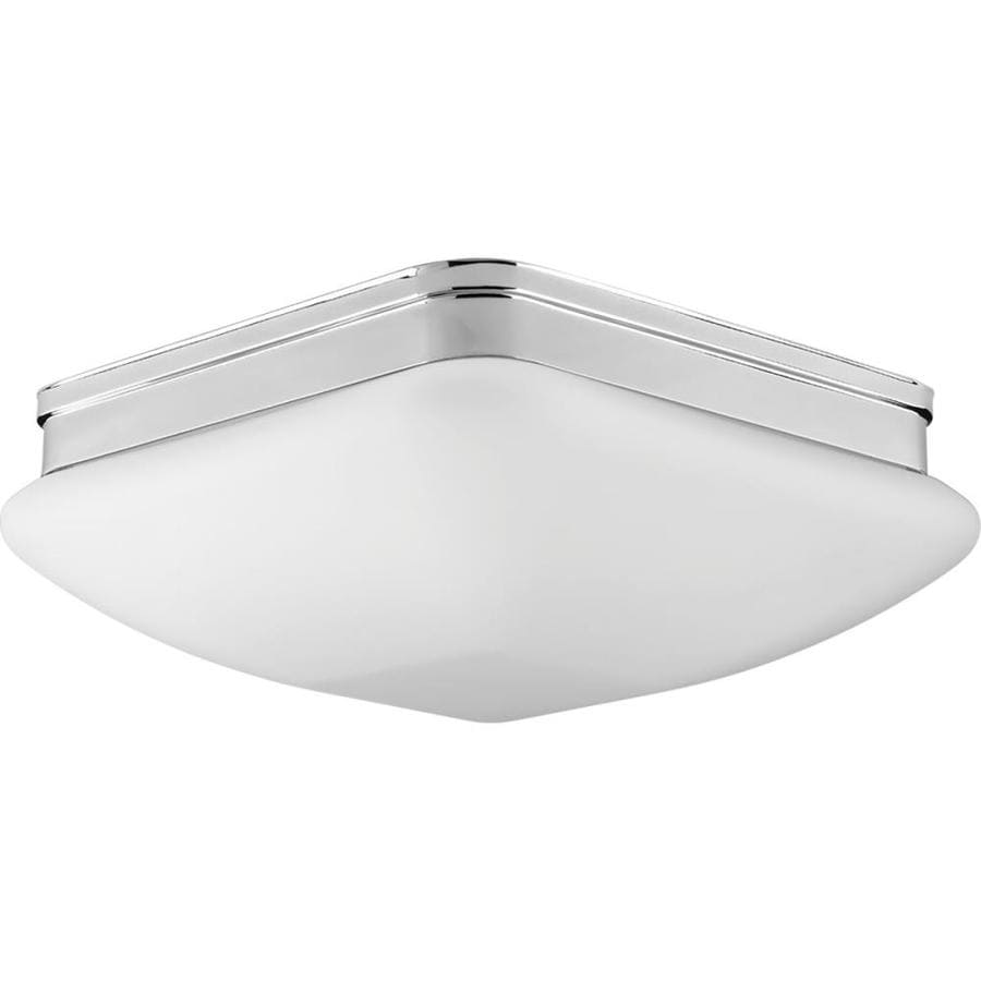 Progress Lighting Appeal 13-in W Polished Chrome Standard Flush Mount Light