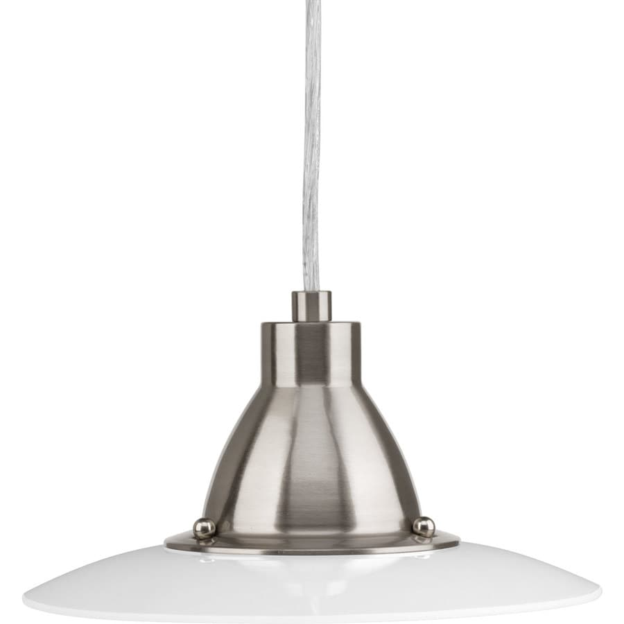 Progress Lighting Avant 9-in Brushed Nickel Mini LED Pendant
