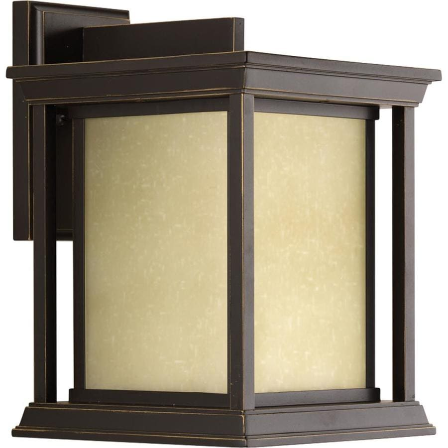 Progress Lighting Endicott 12.5-in H Antique Bronze Outdoor Wall Light