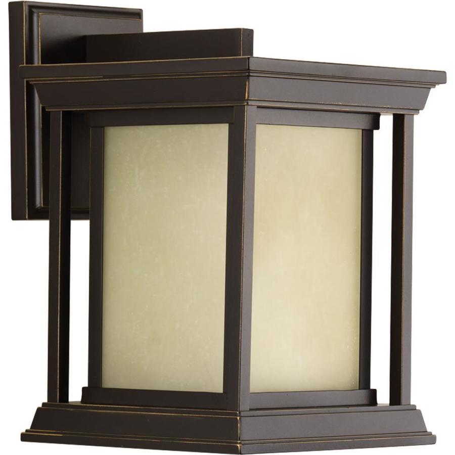 Progress Lighting Endicott 10.5-in H Antique Bronze Outdoor Wall Light