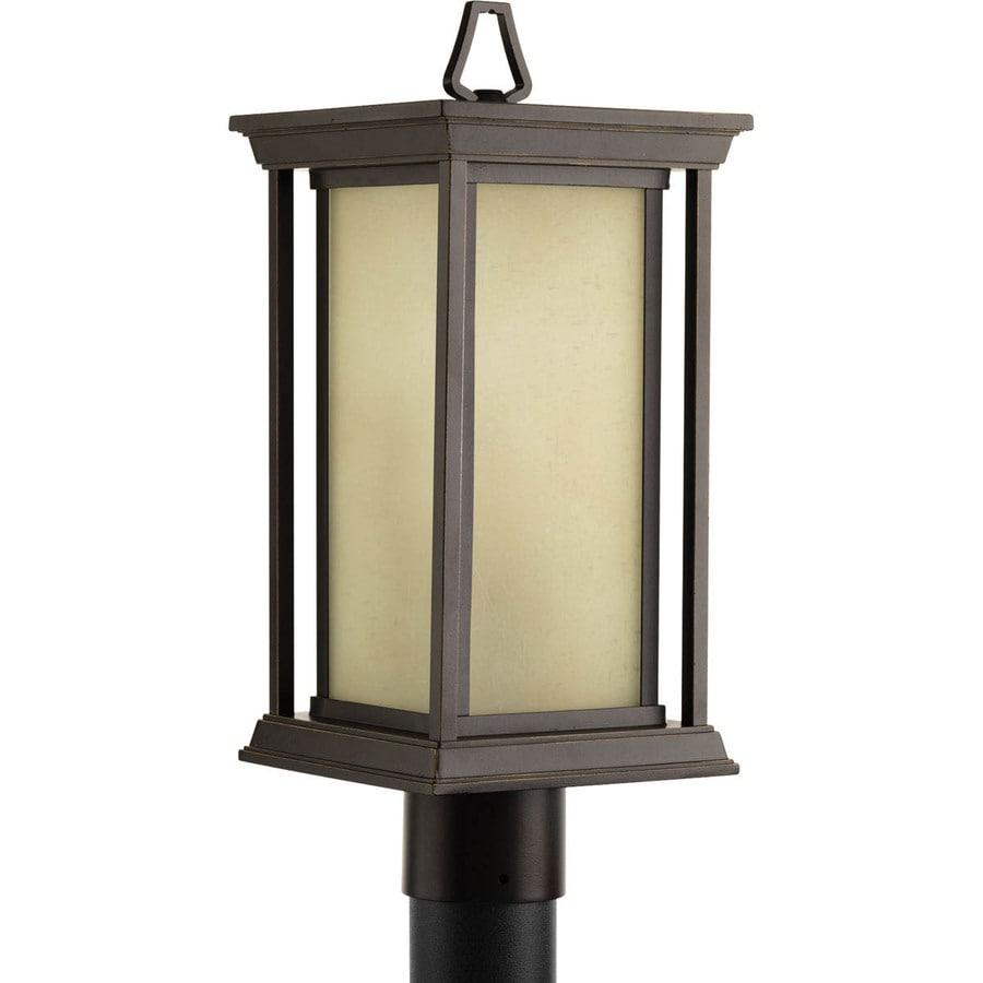 Progress Lighting Endicott 17.75-in H Antique Bronze Post Light
