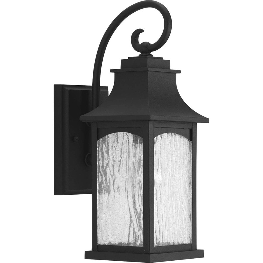 Progress Lighting Maison 16.25-in H Black Outdoor Wall Light