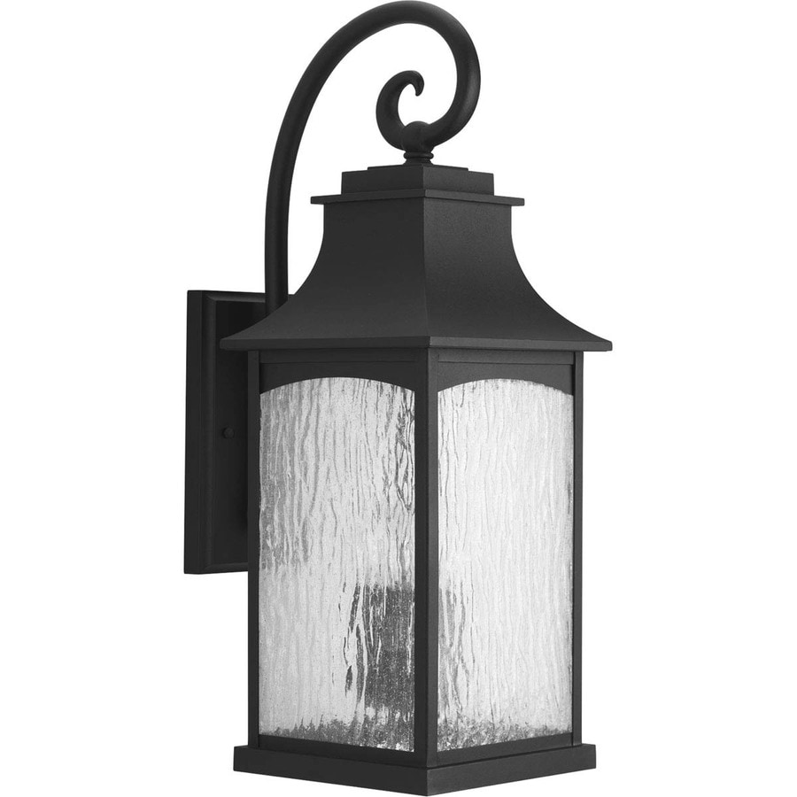 Progress Lighting Maison 23.75-in H Black Outdoor Wall Light