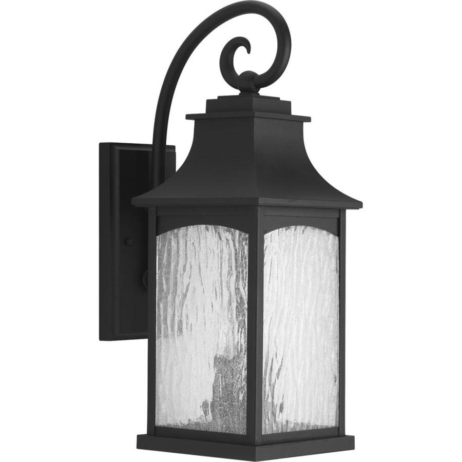 Progress Lighting Maison 20-in H Black Outdoor Wall Light