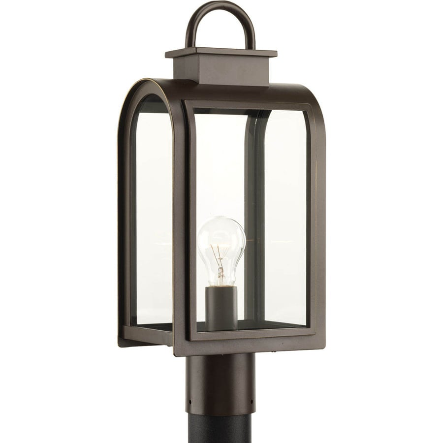 Progress Lighting Refuge 18.625-in H Oil Rubbed Bronze Post Light