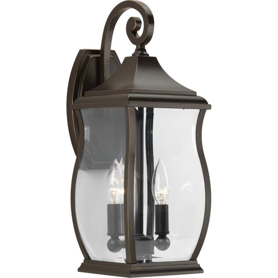 Progress Lighting Township 17.5-in H Oil Rubbed Bronze Outdoor Wall Light