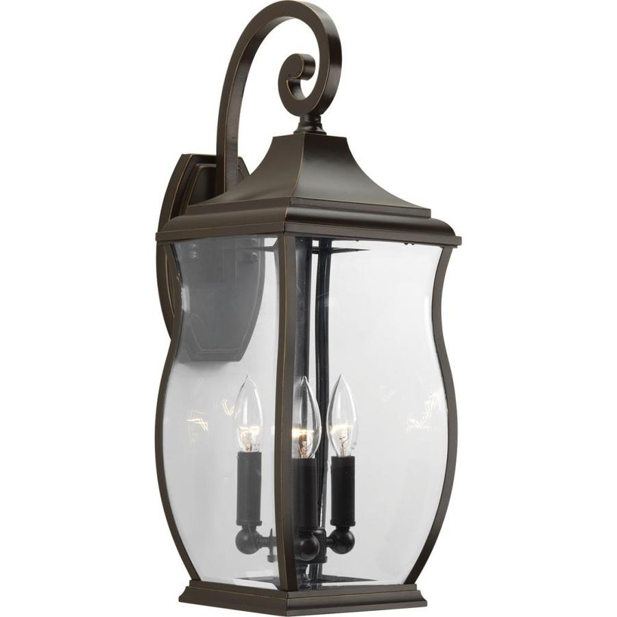 Progress Lighting Township 22-in H Oil Rubbed Bronze Outdoor Wall Light