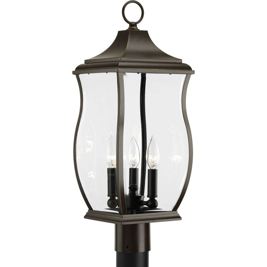 Progress Lighting Township 22.5-in H Oil Rubbed Bronze Post Light