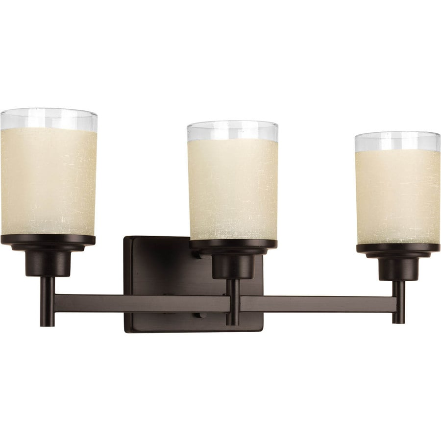 Progress Lighting Alexa 3-Light 9.5-in Antique bronze Cylinder Vanity Light  sc 1 st  Loweu0027s & Shop Progress Lighting Alexa 3-Light 9.5-in Antique bronze ... azcodes.com