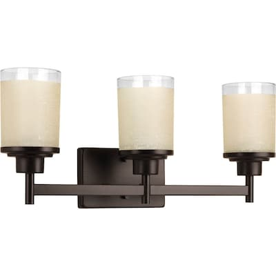 Alexa 3 Light Bronze Transitional Vanity