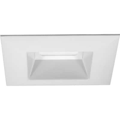 Progress Lighting Led Retrofit Square White Open Recessed