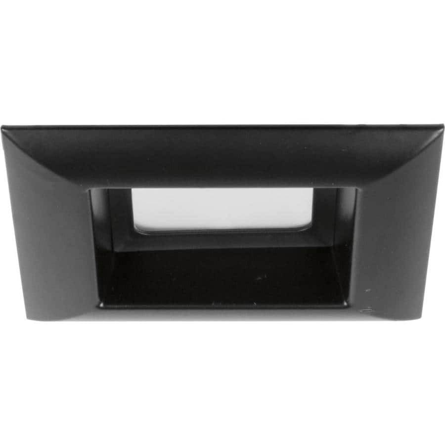 black recessed lighting led recessed progress lighting led retrofit square black open recessed light trim fits housing diameter