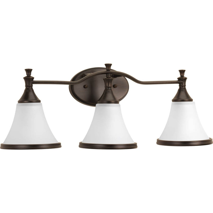 Delta Valdosta 3 Light 24 In Venetian Bronze Bell Vanity