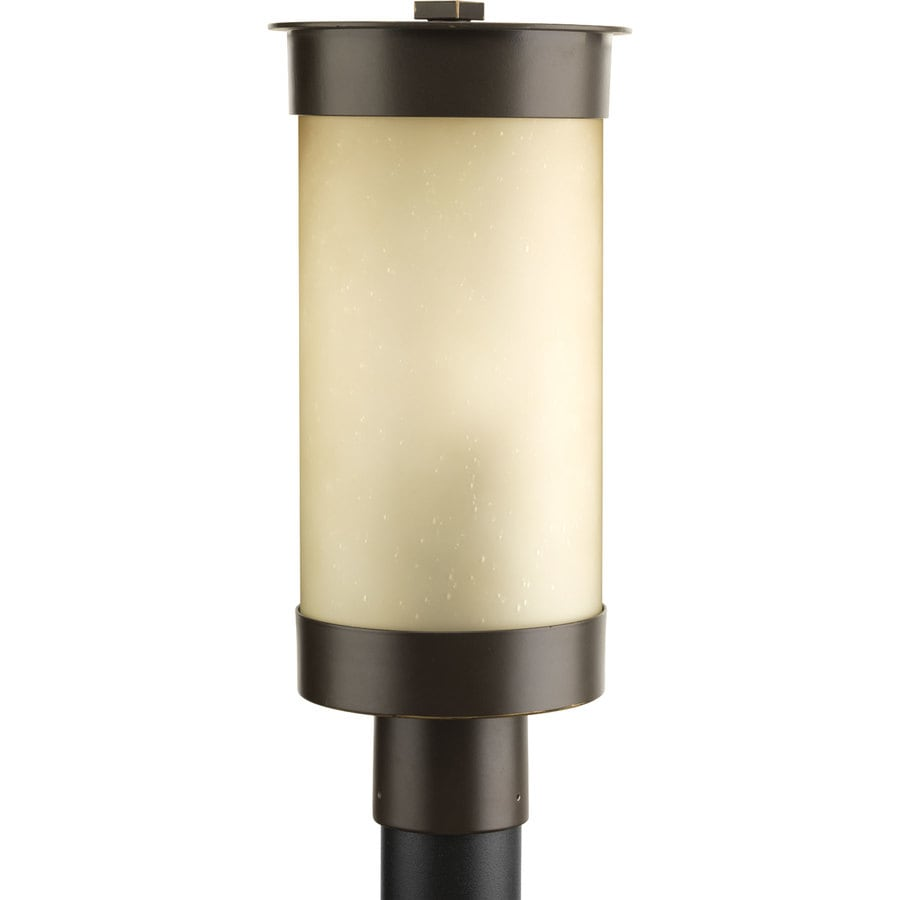 Progress Lighting Hawthorne 17.25-in H Antique Bronze Post Light