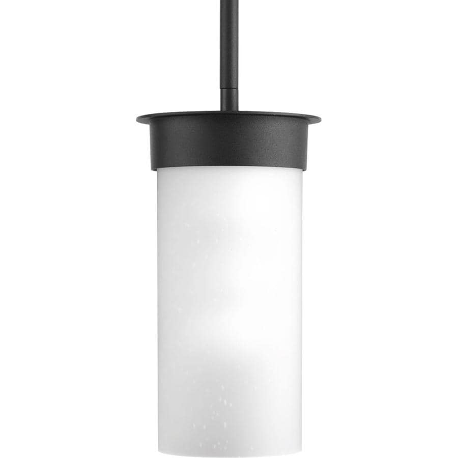 Progress Lighting Hawthorne 9.13-in Black Outdoor Pendant Light