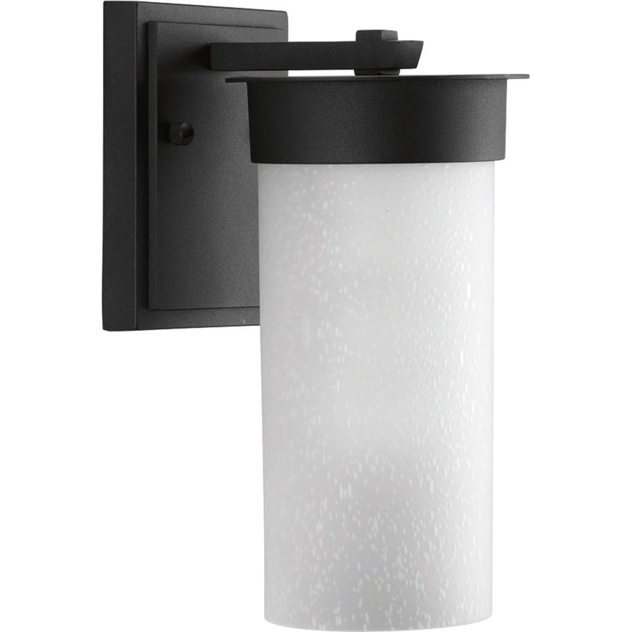 Progress Lighting Hawthorne 9.63-in H Black Outdoor Wall Light