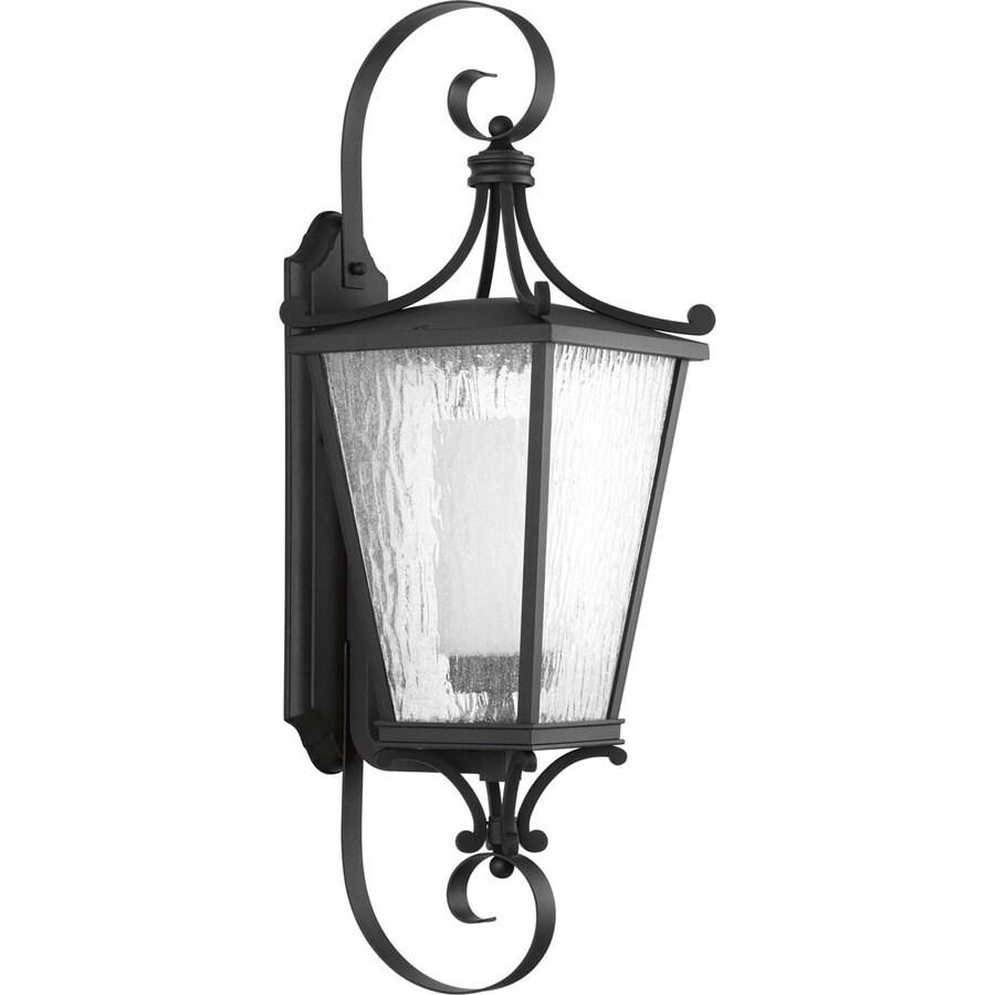 Progress Lighting Cadence CFL 31-in H Black Outdoor Wall Light