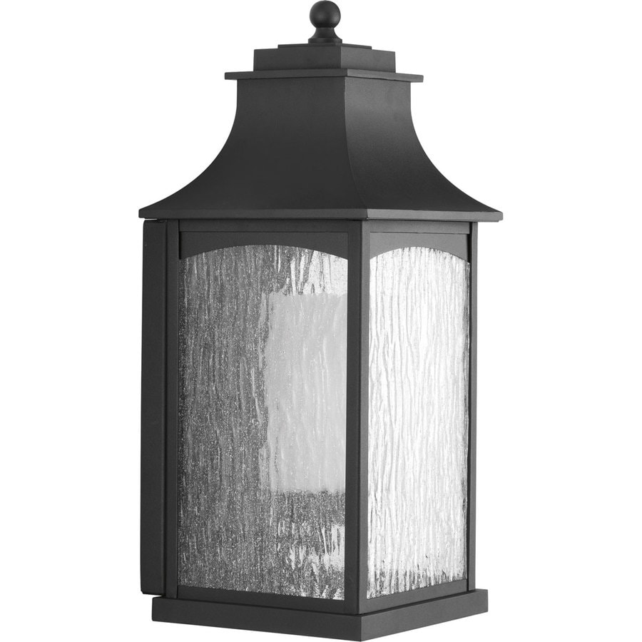 Progress Lighting Maison CFL 19.75-in H Black Outdoor Wall Light