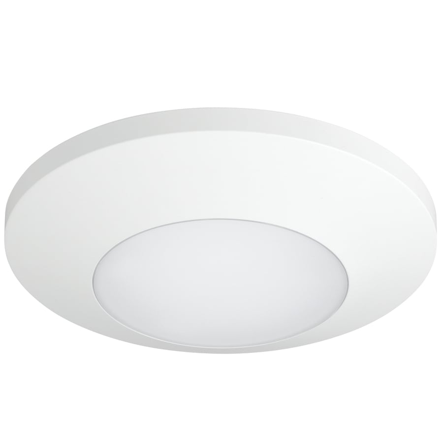 Progress Lighting 7.5-in W White Lighting Technology Flush Mount Light