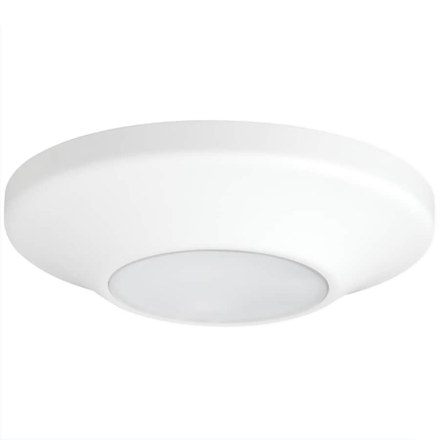 Progress Lighting 5.63-in W White LED Flush Mount Light ENERGY STAR