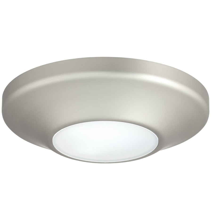 Progress Lighting 5.63-in W Brushed Nickel Lighting Technology Flush Mount Light
