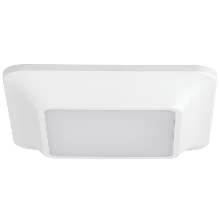 Progress Lighting 7.25-in W White LED Flush Mount Light ENERGY STAR