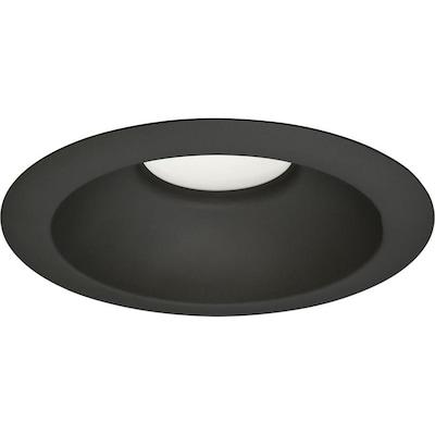 Progress Lighting Led Recessed Black Open Light