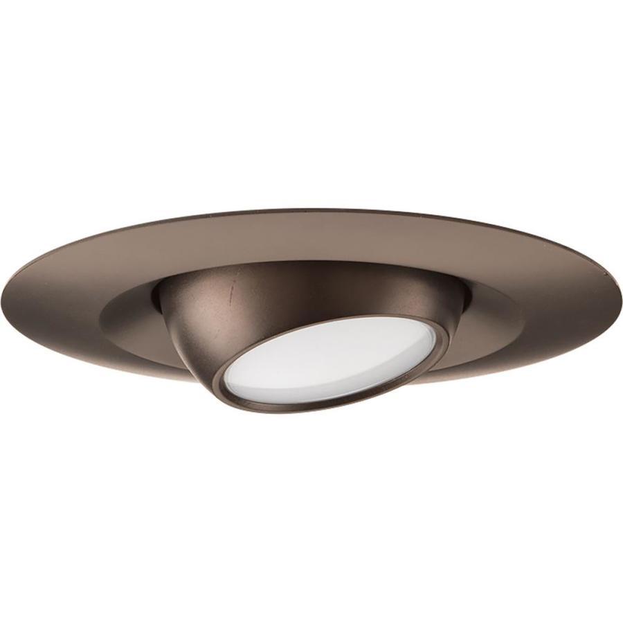 Progress Lighting LED Recessed Antique Bronze Open Recessed Light Trim (Fits Housing Diameter: 5-in)