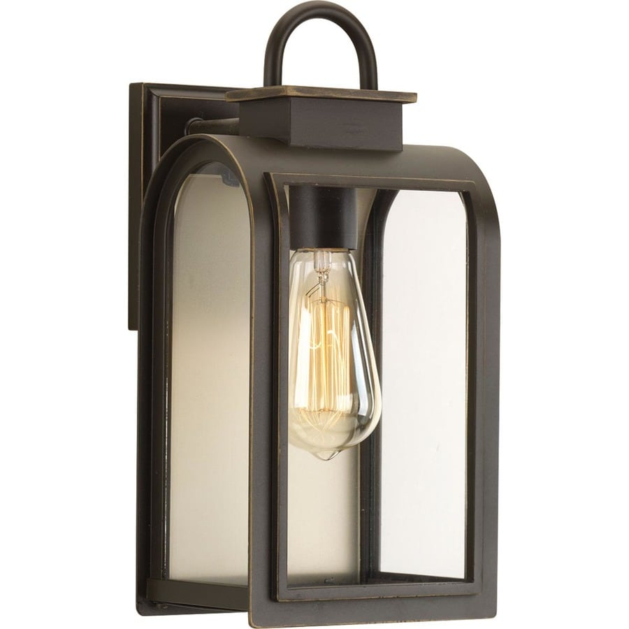 Shop Progress Lighting Refuge 13375 In H Oil Rubbed Bronze Medium
