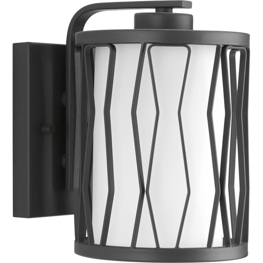 Progress Lighting Wemberly 6.375-in W 1-Light Graphite Wall Wash Wall Sconce