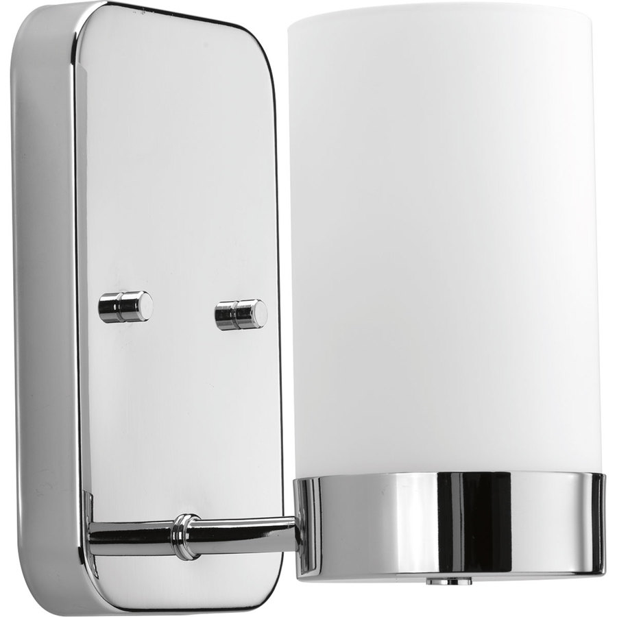Progress Lighting Elevate 5-in W 1-Light Polished Chrome Arm Wall Sconce
