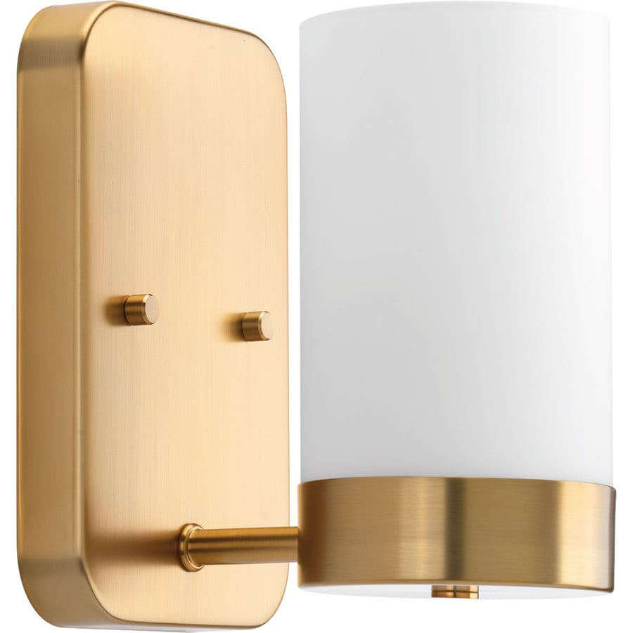 Progress Lighting Elevate 5-in W 1-Light Brushed Bronze Arm Wall Sconce