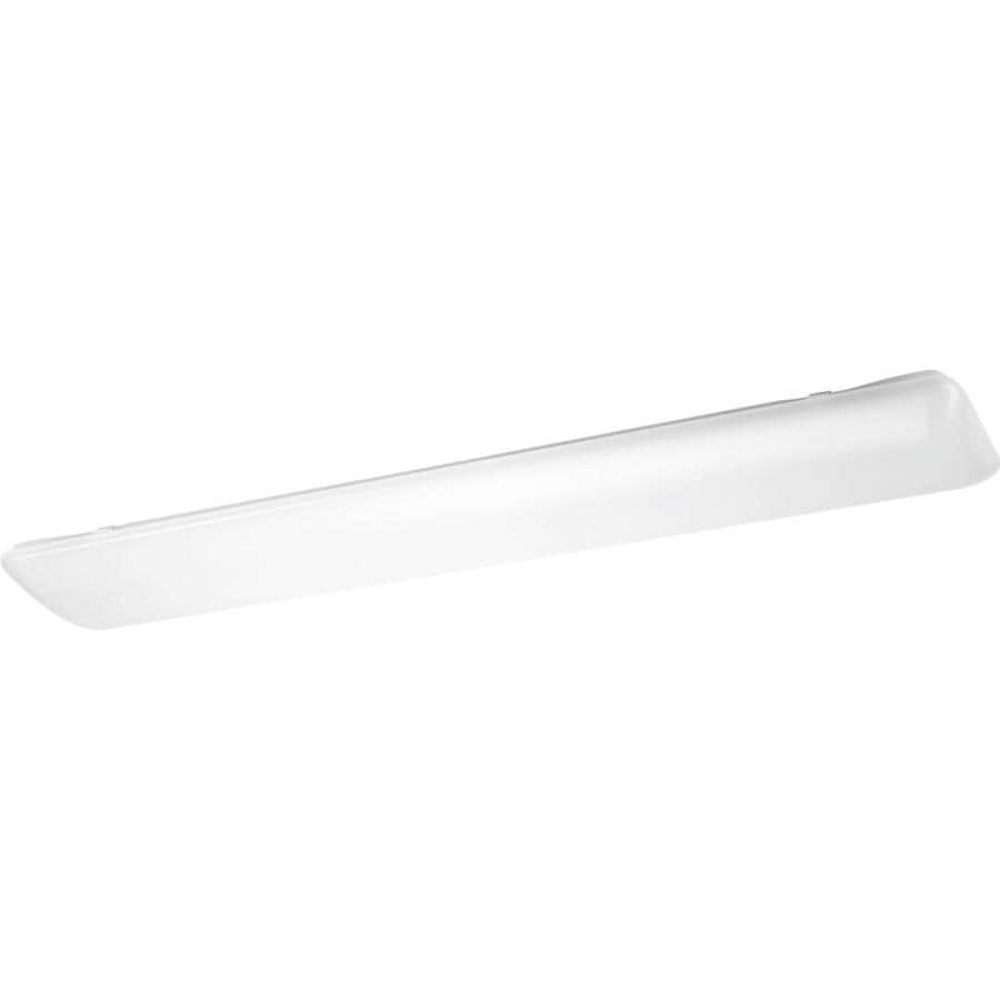 Progress Lighting Linear LED Cloud 10.25-in W White LED Flush Mount Light ENERGY STAR