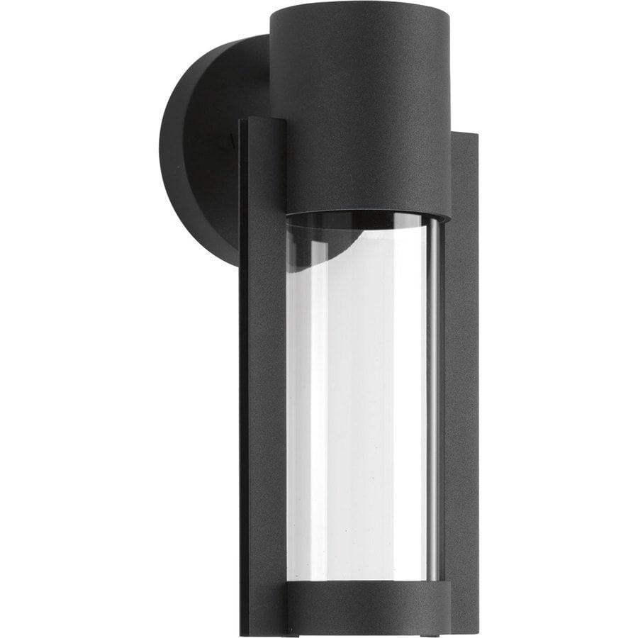 Progress Lighting Z-1030 12-in H Black LED Outdoor Wall Light ENERGY STAR