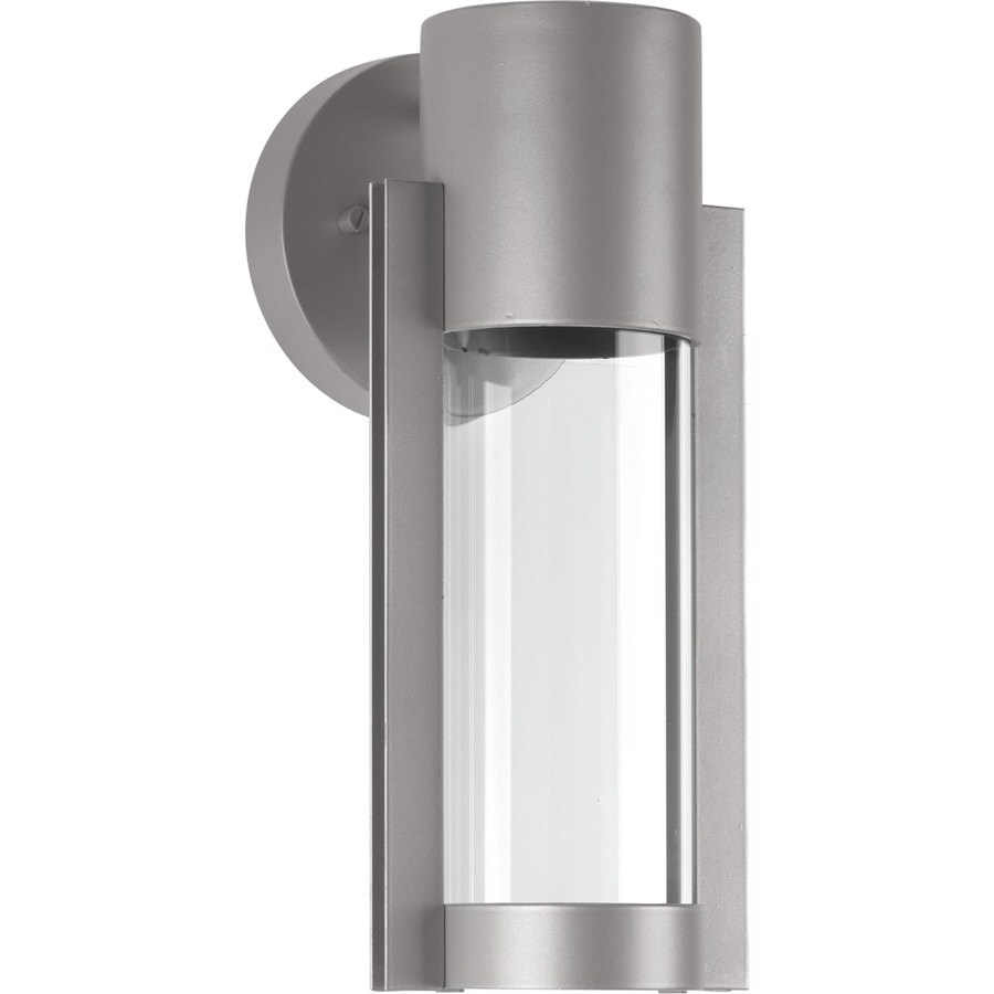 Progress Lighting Z-1030 12-in H Metallic Gray  Led Outdoor Wall Light ENERGY STAR