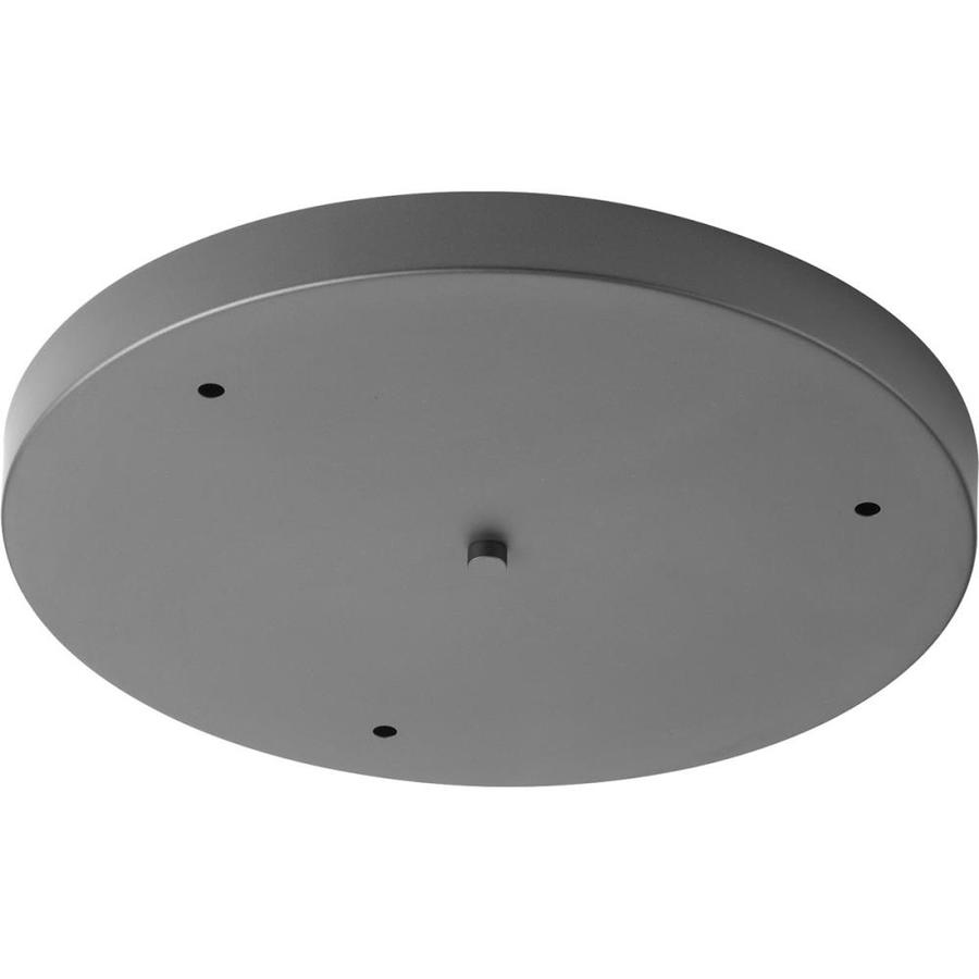 Progress Lighting Accessory Canopy Graphite Metal Ceiling Light Mount In The Ceiling Light Mounts Department At Lowes Com
