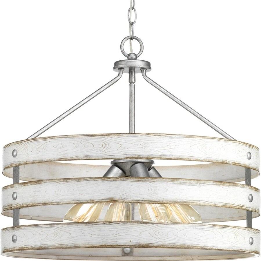 Progress lighting gulliver galvanized multi light coastal pendant