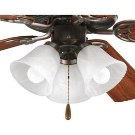 3 light ceiling fan crystal light kit progress lighting fan lightkit 3light antique bronze led ceiling light kit kits at lowescom