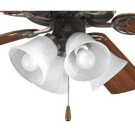 Lowes Ceiling Fan Light Kit Shop ceiling fan light kits at lowes progress lighting fan light kit 4 light antique bronze led ceiling fan light kit audiocablefo