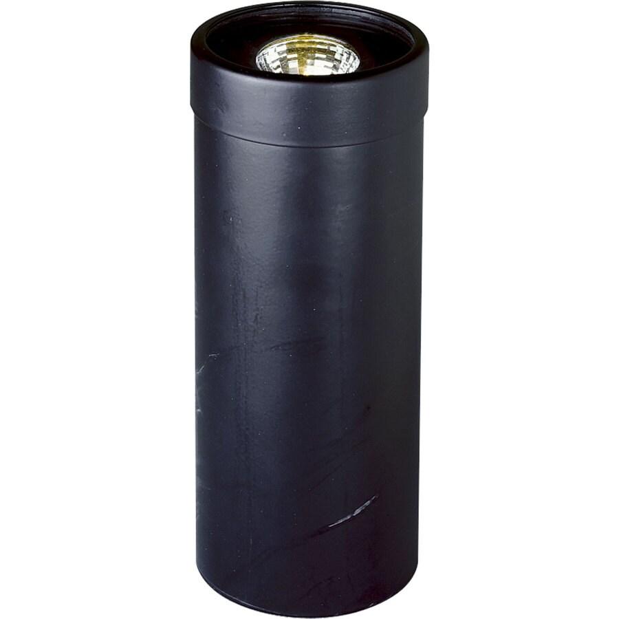 Progress Lighting 50-Watt Black Low Voltage Plug-In Incandescent Well Light